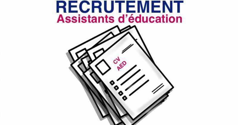 Recrutement Assistants D Education Les Postes A Pourvoir Dans